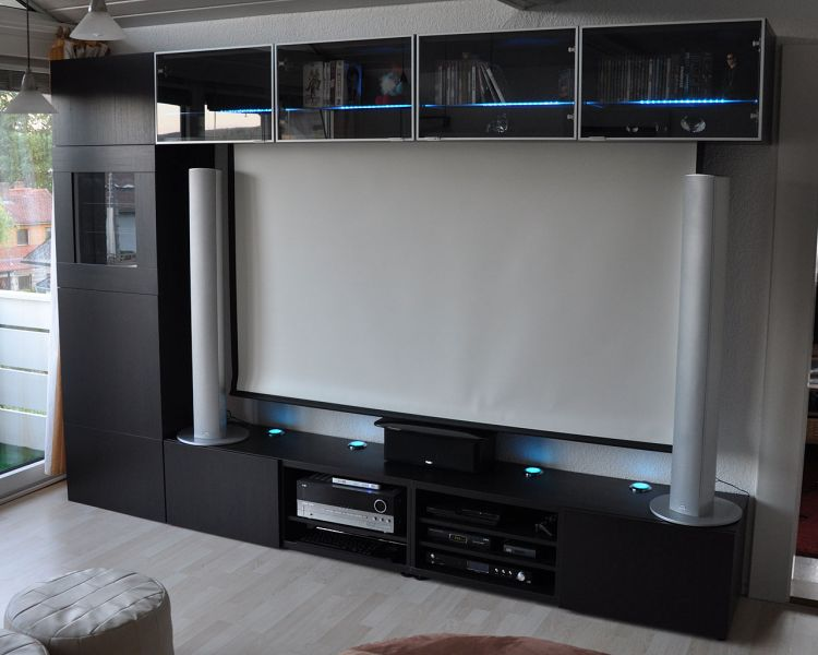 tv wand selber bauen ikea. Black Bedroom Furniture Sets. Home Design Ideas